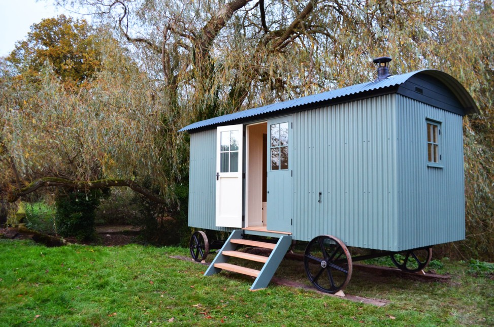 Traditional shepherds hut