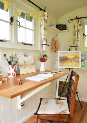 Artists studio - shepherd hut