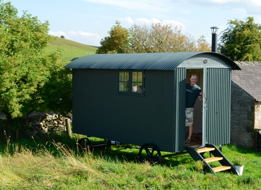 Shepherd's hut holidays
