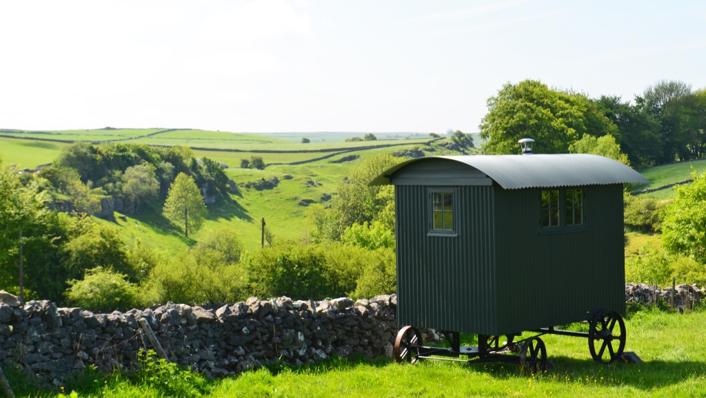 Shepherd's Hut in Peak District