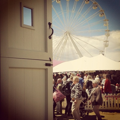 Beach & big wheel at the Great Yorkshire Show