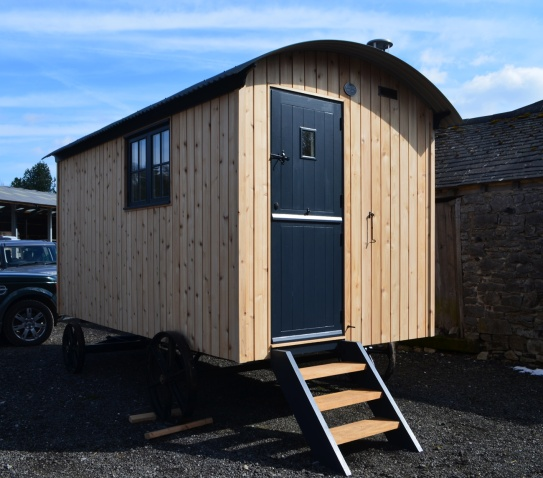 If you prefer timber - this Scottish cedar could be for you